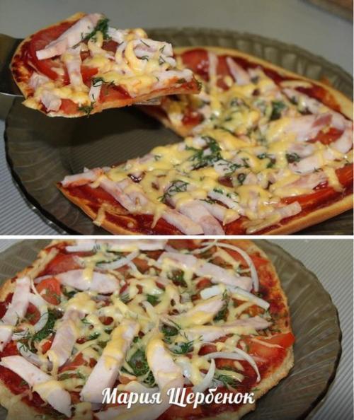 Пицца по дюкану от марии щербенок.
