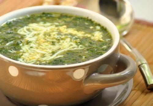 Диетический куриный суп с яйцами. Куриный суп с яйцом.