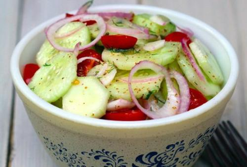Овощной салат по дюкану. Как приготовить овощной салатик по дюкану вкусно и просто?