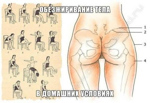 Сушка тела упражнения в домашних условиях
