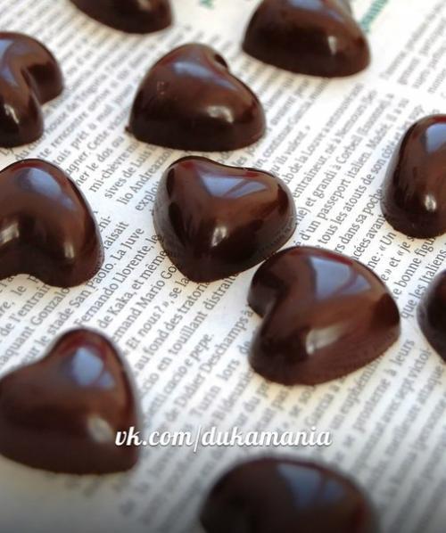 Глазурь шоколадная по дюкану. Шоколад по дюкану заказывали