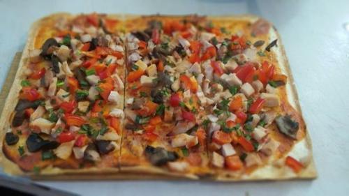Пицца по Дюкану в духовке. Пицца по Дюкану для чередования.