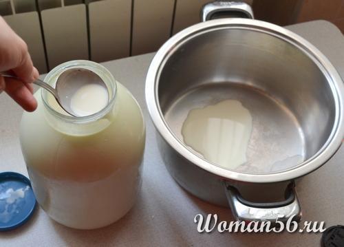 Сыр из молока. Как сделать сыр из молока в домашних условиях