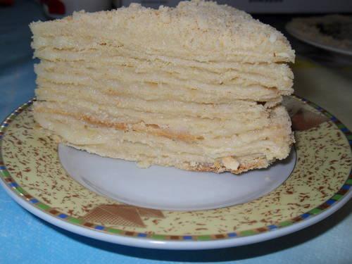 Пп крем для торта Наполеон. Диетический низкокалорийный «Наполеон»