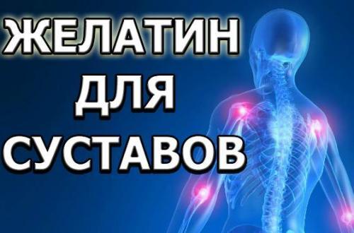 Рецепт желатин от болей в суставах. Желатин для суставов: миф или реальная помощь при травмах в спорте?