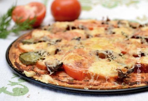 Пицца по Дюкану без отрубей. Пицца по Дюкану. Просто вкусная пицца