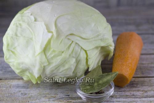 Закваска капусты без соли и сахара. Квашеная капуста без соли и сахара