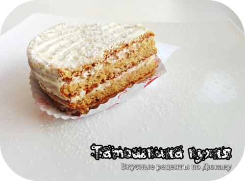 Творожный торт по Дюкану. Торт «Белоснежка» по Дюкану (с Атаки)