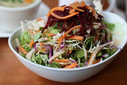 Салат-щетка калорийность на 100 грамм. Для очищения кишечника и похудения
