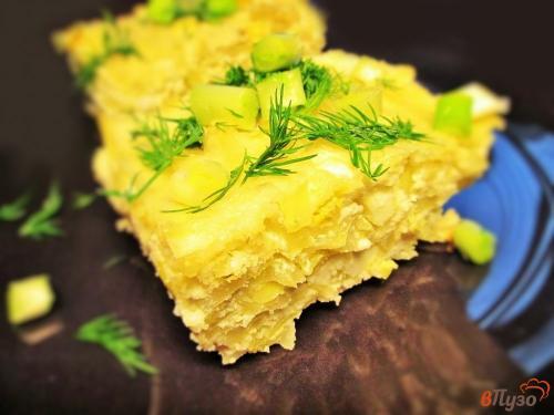 Диетический капустный пирог без муки