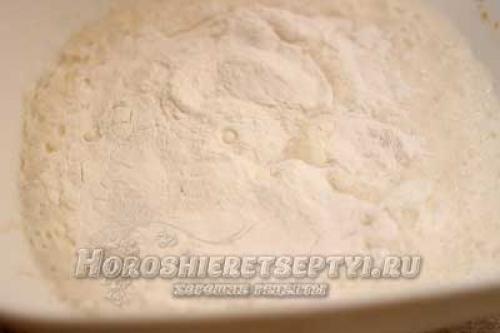 Капустный пирог из рисовой муки. Пирог из рисовой муки