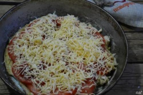 Пицца без отрубей по-Дюкану в. Пицца по Дюкану