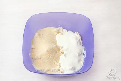 Рецепт 5: ПП запеканка из творога с клюквой и корицей
