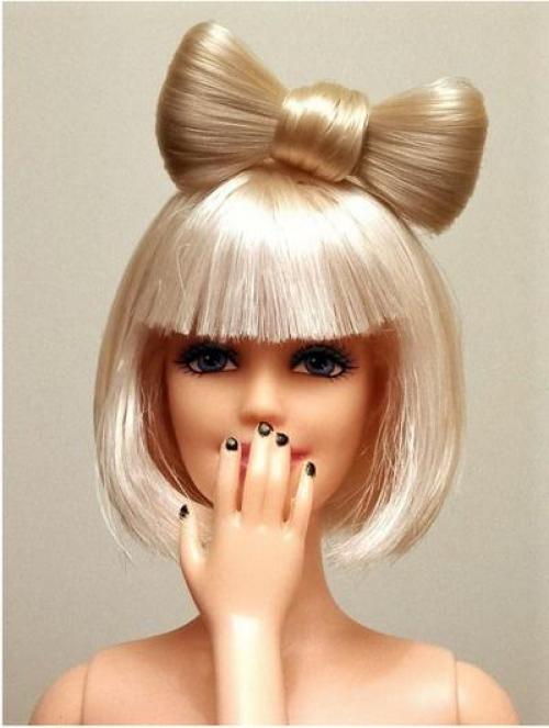 Делаем прическу куколке. Как сделать волосы кукле — советы по выбору материалов и варианты укладки причесок (95 фото и видео) 29