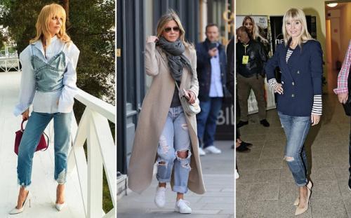 Советы от Эвелины Хромченко 2019 для 50 летних женщин. Эвелина Хромченко объяснила зрелым женщинам, как носить джинсы после 50 лет и не выглядеть дешево
