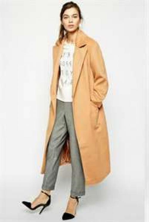 С чем носить длинное зимнее пальто. Разные модели пальто