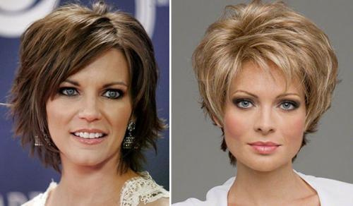 Стрижки для редких волос женские. Способ 3: многослойные стрижки на тонкие волосы