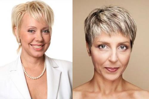 Короткая стрижка для женщин после 60 лет на тонкие волосы. Почему именно короткие стрижки лучше всего подходят женщине после 60