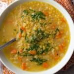 Полезный суп из чечевицы - готовится элементарно!
