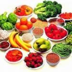 10 продуктов, потеря веса 1, 5 кг в неделю.