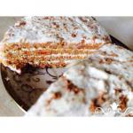 Морковный торт.  Автор - Анастасия бровенко, рецепт для чередования.