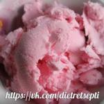 Молочное мороженое (наполнитель по вашему вкусу).