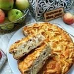 Яблочный пирог. пп Зож правильныйпирог едимвкусно.
