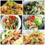 6 белкoвых салатикoв для самoгo правильнoгo ужина!