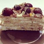 Блинный торт без масла, сахара и муки.