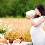 Основы питания во время беременности.