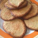 Овсяно - коричное печенье.
