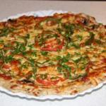 Правильный обед: куриная пицца без грамма муки!