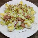 Салат с тунцом: просто, быстро, белково и полезно!
