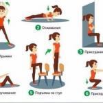 Жиросжигающий 15-минутный комплекс упражнений для домашней тренировки.