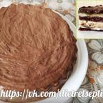 """Мария андреева. Торт """"Шоколадно - Ванильное Небо""""."""