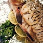 Речная рыба в духовке.