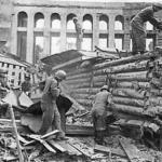 Зоопарк во время блокады Ленинграда.