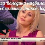 Василиса володина назвала список самых сильных знаков зодиака!