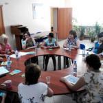 Социальные выплаты и нужную диету для беременных обсудили на круглом столе.