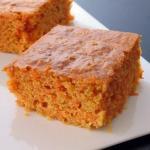 Морковный кекс с корицей, очень вкусный десерт!