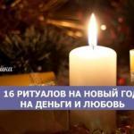 * 16 ритуалов на новый год на деньги и любовь *.
