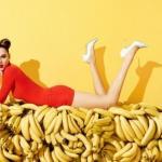 Банан - фрукт счастья.