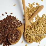 Семена льна для похудения?