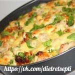 Куриная запеканка с грибами и сыром - правильная и вкусная!